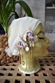 Handmade Ohrringe Boho Wearable Art