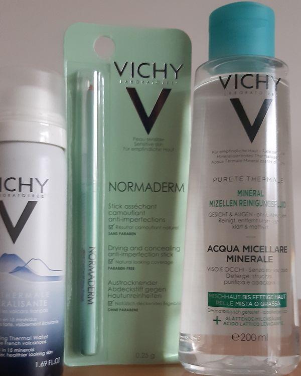 Pflege von Vichy und Cerave