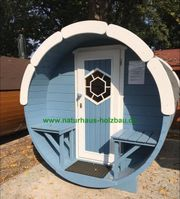 Sauna Pod Camping Pod Fasssauna