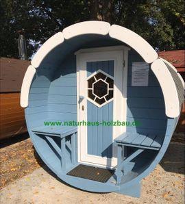 Sauna Pod Camping Pod Fasssauna: Kleinanzeigen aus Dahlwitz-Hoppegarten - Rubrik Sonstiges für den Garten, Balkon, Terrasse