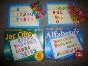 Spielzeug 2 Magnettaffel Buchstaben und