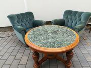 2 Sessel 1 Tisch 50er