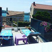 Kroatien Sibenik kleines Haus in