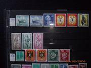 Briefmarkensammlung Berlin 1955 - 1959
