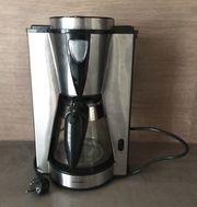 Kaffeemaschine Filterkaffee schwarz silber Superior