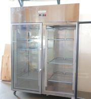 GGM Gastro Glas Doppeltürkühlschrank Lagerkühlschrank