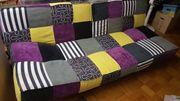 Stylische Couch neu