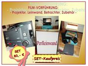 Set PORST Tonfilmprojektor 100 Leinwand