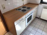 Küche incl Herd und Kühlschrank