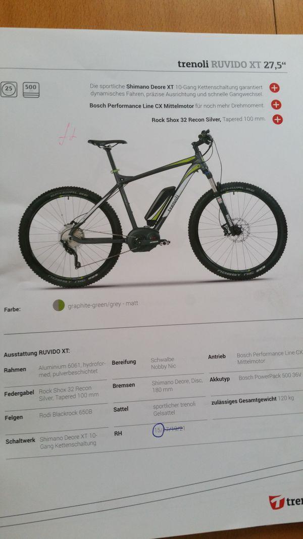 E Bike MTB