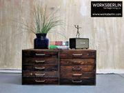 Vintage Schubladenschrank aus Holz - worksberlin