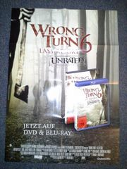 Filmplakat A1 Wrong Turn aus