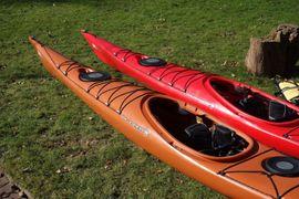 Kanus, Ruder-,Schlauchboote - 2 Seekajaks Wilderness Systems Zephyr