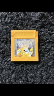 Nintendo Gameboy Advance Pokemon Gelb