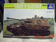 ITALERI Modell 211 Jagdpanzer Tiger