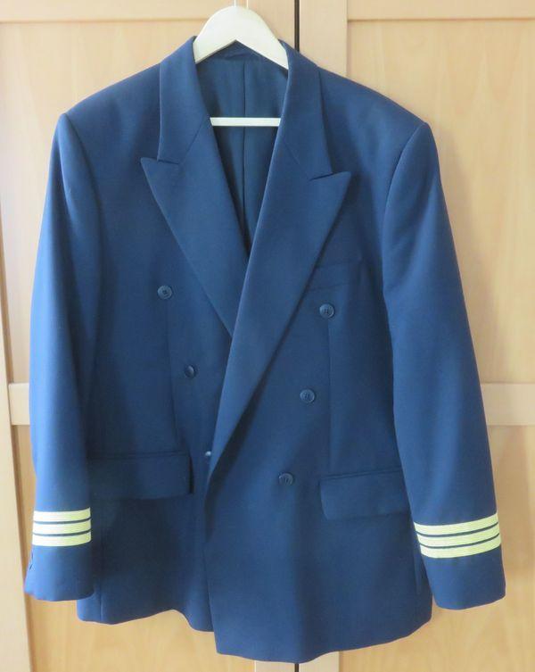 Piloten Uniform Sakko Gr 54