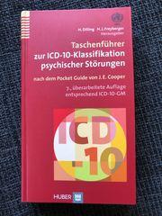 Taschenführer zur ICD-10 Klassifikation psychischer