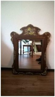Spiegel mit Konsole Bauernstil Eiche