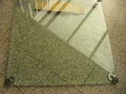 Glas-Tischplatte Klarglas f Couchtisch quadratisch