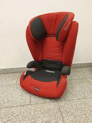 Römer Kidfix Kindersitz rot schwarz