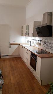 Küche weiß und neuwertig mit