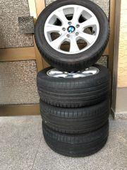 BMW 1 Alufelgen mit Sommerreifen