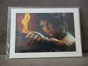 Tomb Raider Lithographie