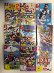 div Nintendo Switch Spiele Preis