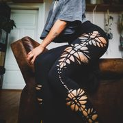 Selfmade Cut Out Leggings
