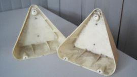 Zubehör und Teile - Dreiecksrückstrahler beige Hobby Wohnwagen 2