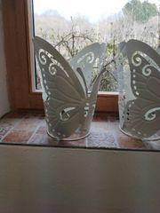 2 Schmetterling Wind Lichter