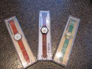 Automatic-Uhren - 3 Stück- Swatch von