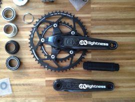 Fahrradzubehör, -teile - AX Lightness Morpheus Ultraleichte Carbon