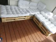 Paletten Sofa 3 sitzer