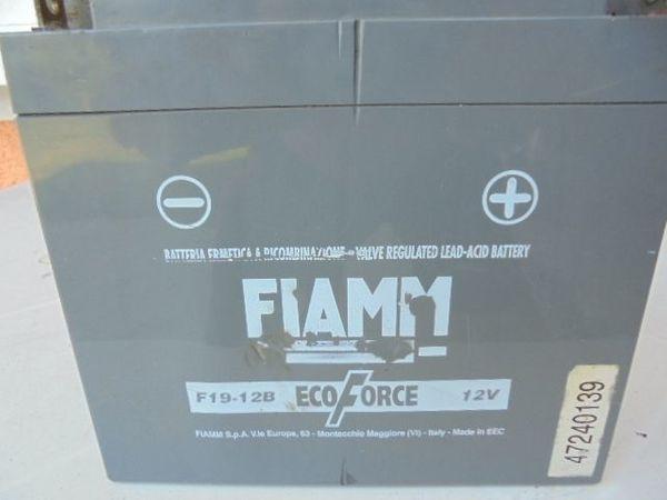 FIAMM Bleiakku Eco-Force 12 V