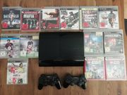 PS3 Superslim 12GB 2 Controller