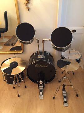 Bild 4 - Schlagzeug komplett Santander Topzustand - Starnberg