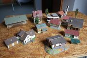 H0 - Modellbahn Häuser