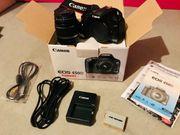 Digitale Spiegelreflexkamera DSLR Canon EOS