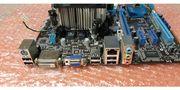 Mainboard inklusive CPU