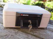 Sentry 1100 - Feuerschutzkassette - Minitresor - Dokumentenkassette -