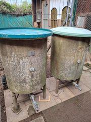 Zwei Wassertonnen abzugeben