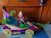 Barbie Kutsche mit Puppe