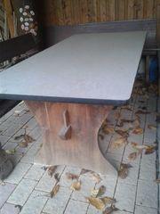 Gartentisch massiv Holz