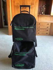 Trolley Transporttrolley neuwertig Tasche Thermomixtrolley