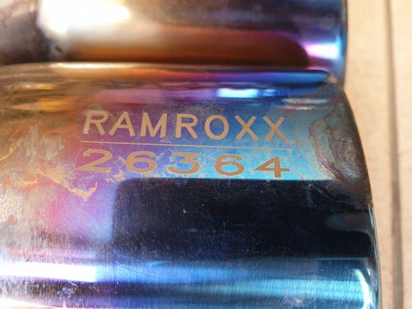 Auspuffblende Doppelrohr RAMROXX 26364