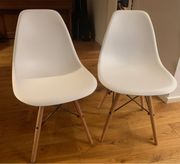 Stühle 2er Set - skandinavisches Design