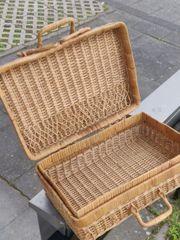 holz Picknick koffer