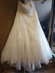 Brautkleid größe 54