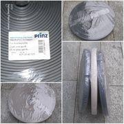 Prinz Weich-PVC-Einlage für Kombiprofile grau